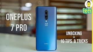 Download हिंदी OnePlus 7 Pro Unboxing and 10 Awesome Tips and Tricks [Hindi] Mp3 and Videos
