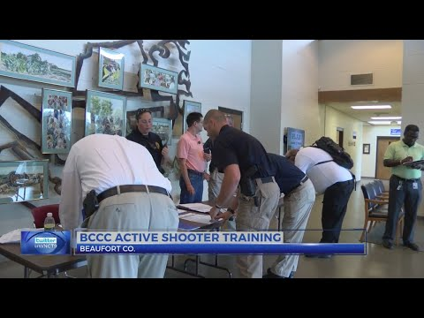 Beaufort County Community College hosts active shooter training