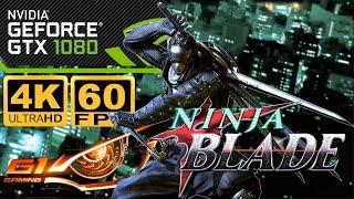 Ninja Blade 4K 60FPS GTX 1080 G1 Gaming