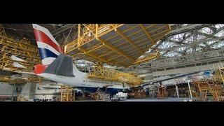 British Airways Boeing 747-400 Overhaul (BBC)