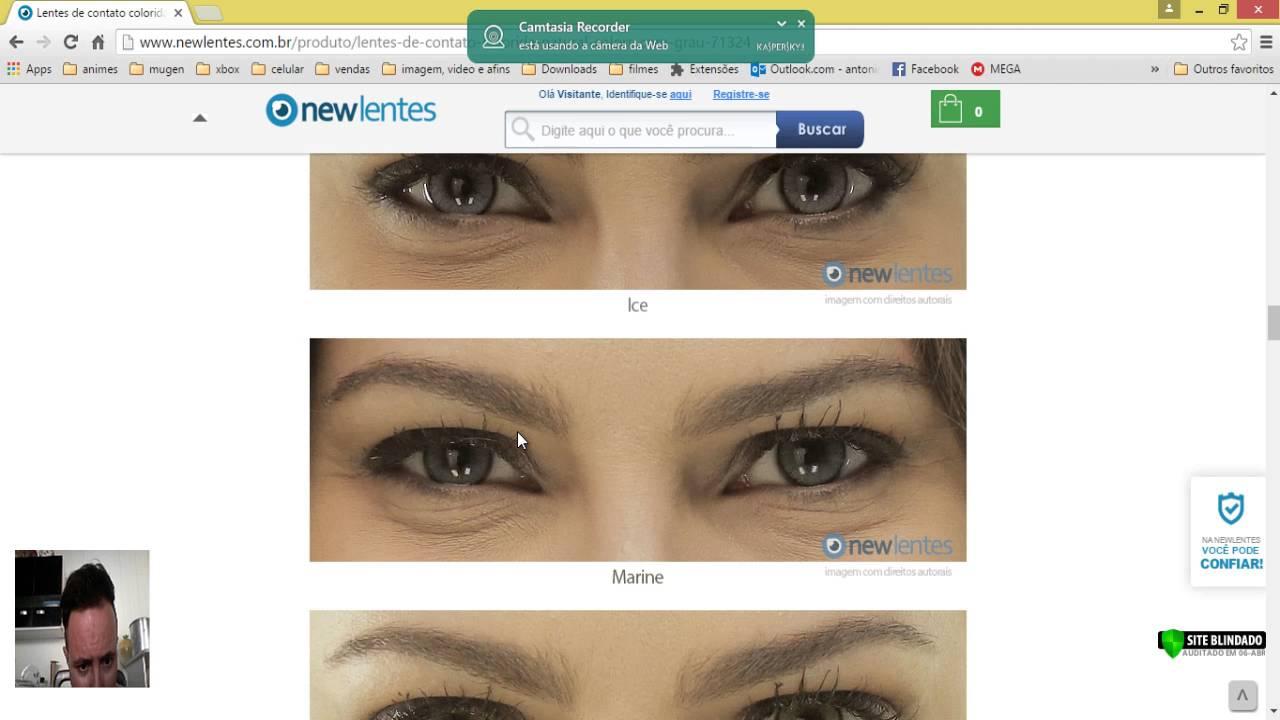 90a9e744a4caa Como comprar lentes de contato online - Com grau ou sem grau - YouTube