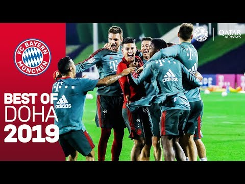 FC Bayern in Doha: Preparing for a successful 2019!