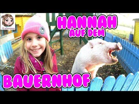 AUF DEM BAUERNHOF - Viele neue Freunde für Hannah auf dem Kinderbauernhof in Hamburg