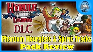 Phantom Hourglass & Spirit Tracks DLC Pack Review - Hyrule Warriors Legends