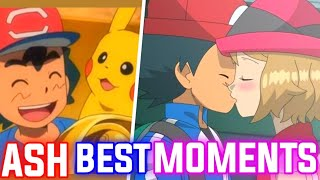 Best Moments Of Ash Ketchum In Pokemon Anime|Pokemon Journeys in hindi