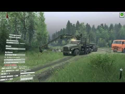 SPINTIRES GAMEPLAY....uncloaking the Plains map