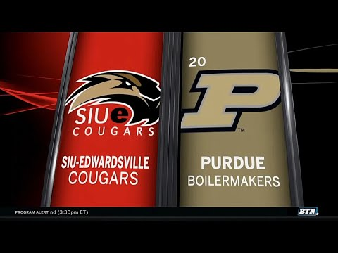 SIU-Edwardsville at Purdue - Men's Basketball Highlights