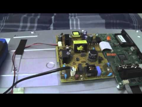 how to fix tv backlight
