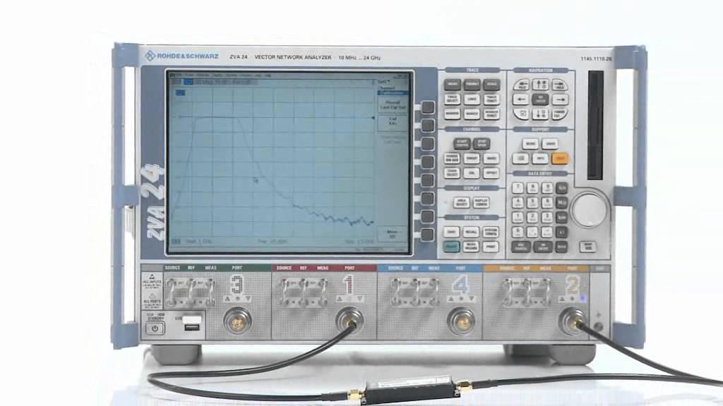 R&S®ZVA network analyzer basics part 2: Calibration