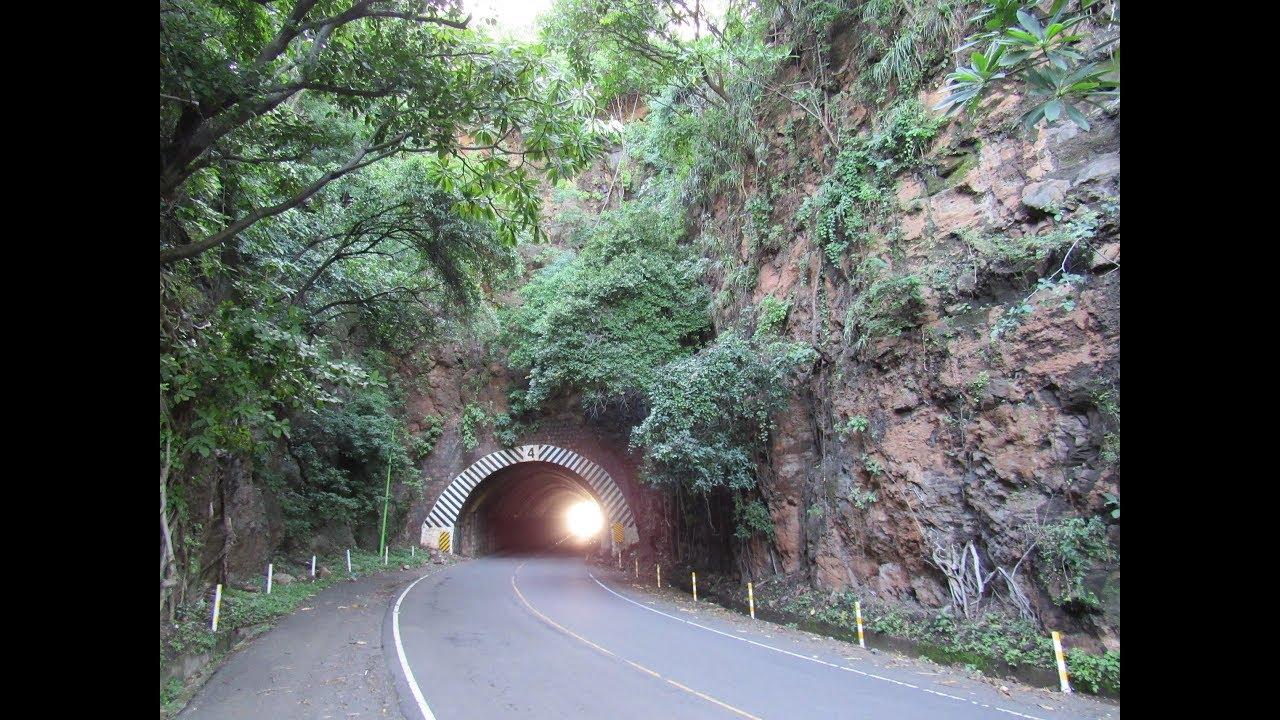 Tuneles carretera del Litoral CA 2 El Salvador YouTube