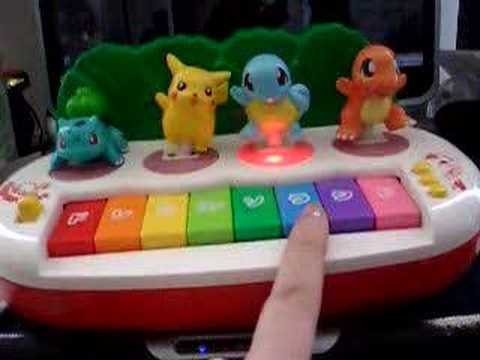 how to play pokemon on the piano