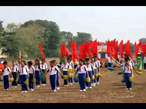Đồng diễn trường tiểu học Hoàng Lê Kha Tây Ninh