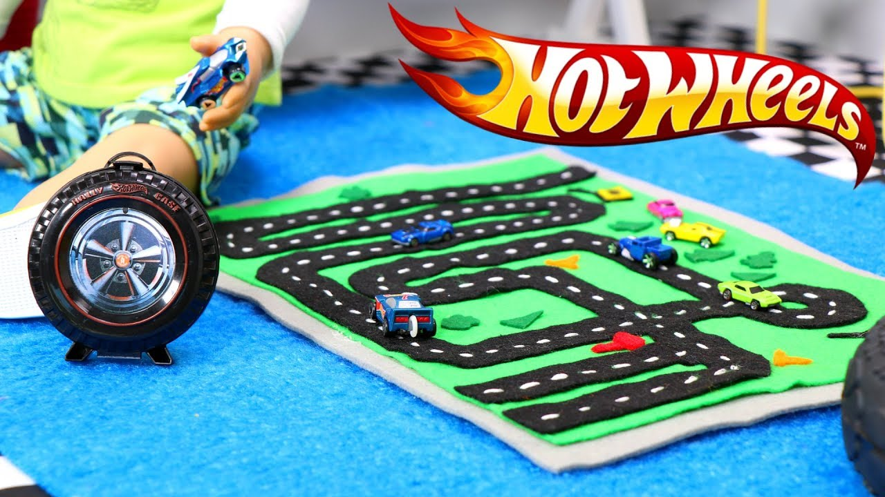 Diy Doll Size Hot Wheels Play Rug Youtube