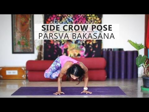 How to do Parsva Bakasana Side Crow Pose