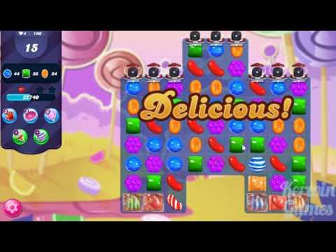 Candy Crush Saga Level 190 - Hard Level - No Boosters ★★★