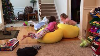 Xmas 2017 - Girls Love Their Beanbag Chairs