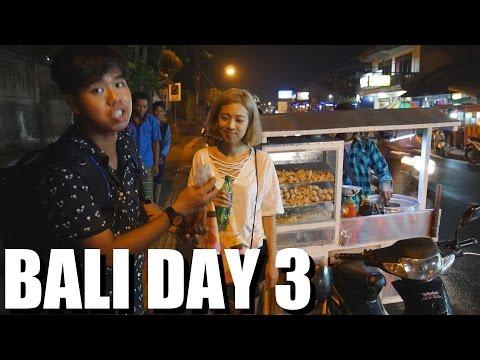 Trying Indonesian Street Food and beautiful Mountain Biking in Ubud, BALI