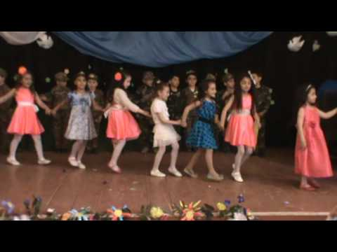 Armenian Alphabet Celebration by the first graders