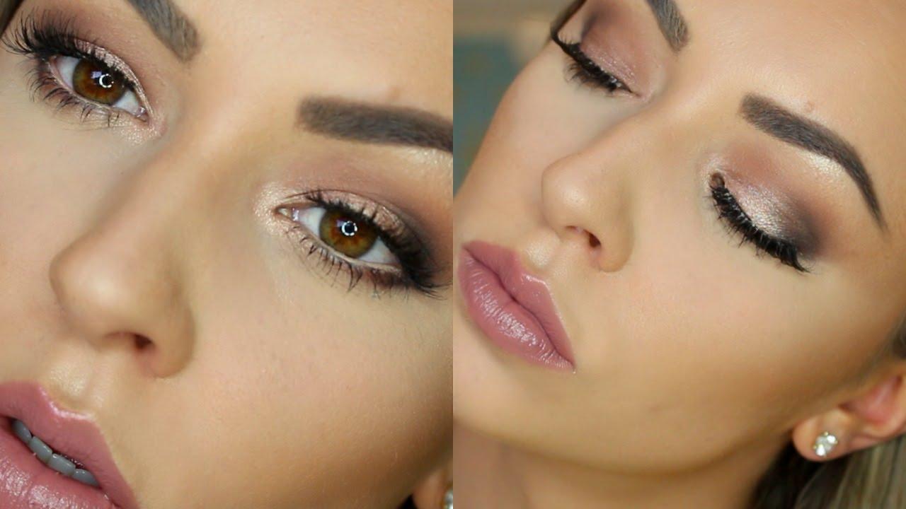 beginners hooded eye makeup tutorial | step by step