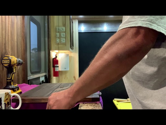 RV Trailer Build #148 - Part 3 - Hanging Cabinet Doors & Installing Cabinet Door Catches