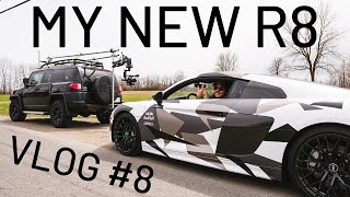 Custom wrapping my new Audi R8 in camo | Seb Toots Vlog #8