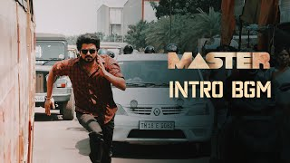 Master - Intro Background Music | HQ | Thalapathy Vijay | Anirudh | Master BGM