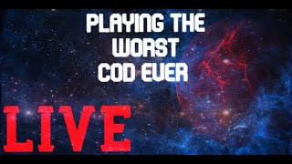 "Playing ""THE WORST CALL OF DUTY EVER!"" LIVE ;) (Interactive Streamer)"