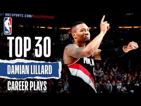 Damian Lillard's Top 30 | Career Plays