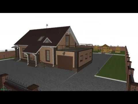 Проекты домов и коттеджей с фото