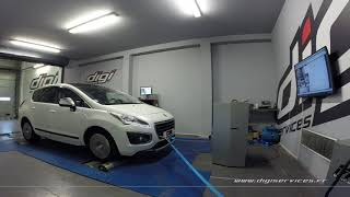 Peugeot 3008 2.0 bluehdi 150cv Reprogrammation Moteur @ 195cv Digiservices Paris 77 Dyno