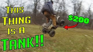 Can We DESTROY a Chinese Coolster 125 ATV?!