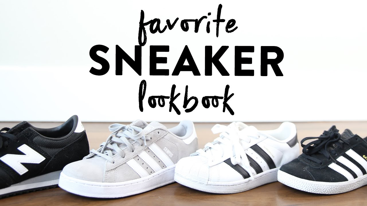 best website d4e3f 3ae94 Favorite Sneakers Summer Lookbook  Adidas Gazelle Campus  Superstar  New  Balance 620  Miss Louie - YouTube