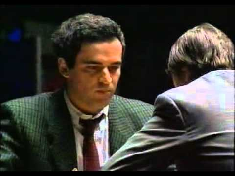 Kasparov Karpov Lyon 1990 World Chess Championships FULL Documentary
