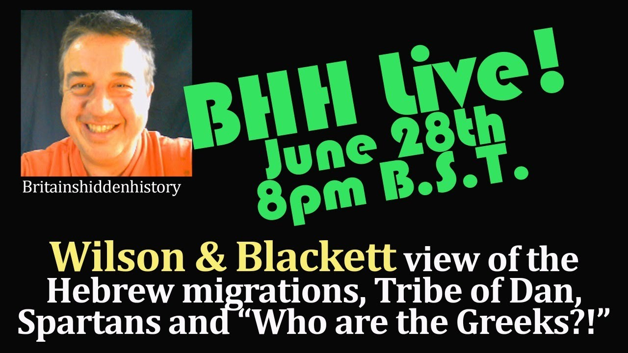 BHH Live 06 - The Twelves tribes, Daanites, Greeks and the Spartans!