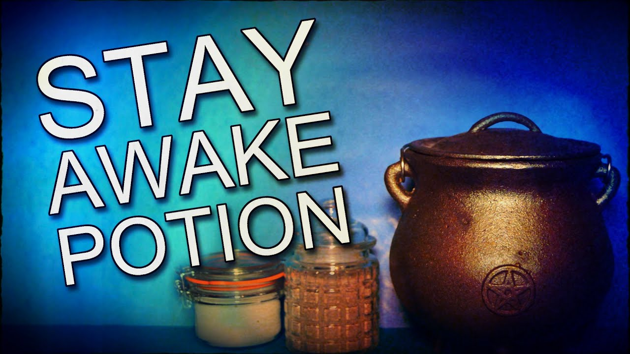 how to make a potion to help you stay awake