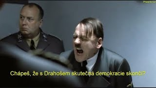 Jak by reagoval Hitler, kdyby prezidentské volby vyhrál Jiří Drahoš
