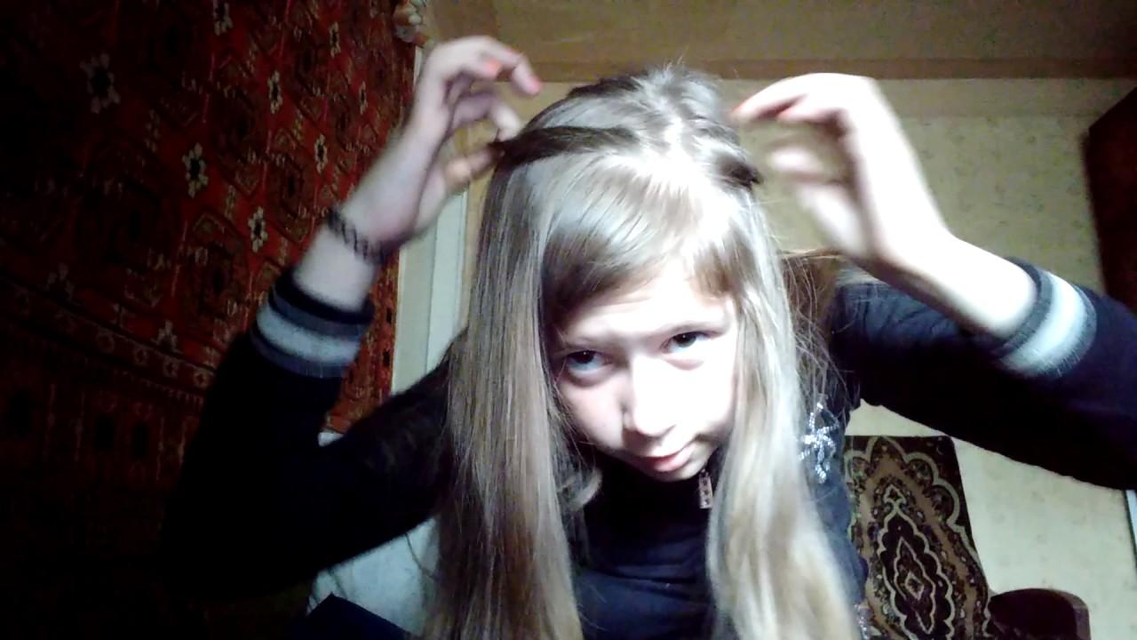 Легко быстро просто))) как сделать прическу ...??!