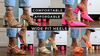 Affordable Wide Fit Heels That Are Super Comfortable 2020: ASOS, New Look & LoveRaid Heels Haul