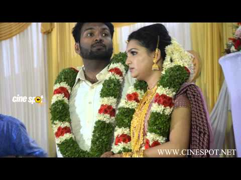 Saranya Mohan Singing at Marriage Reception HD video