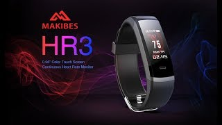 Baixar Makibes HR3 Smart Wristband