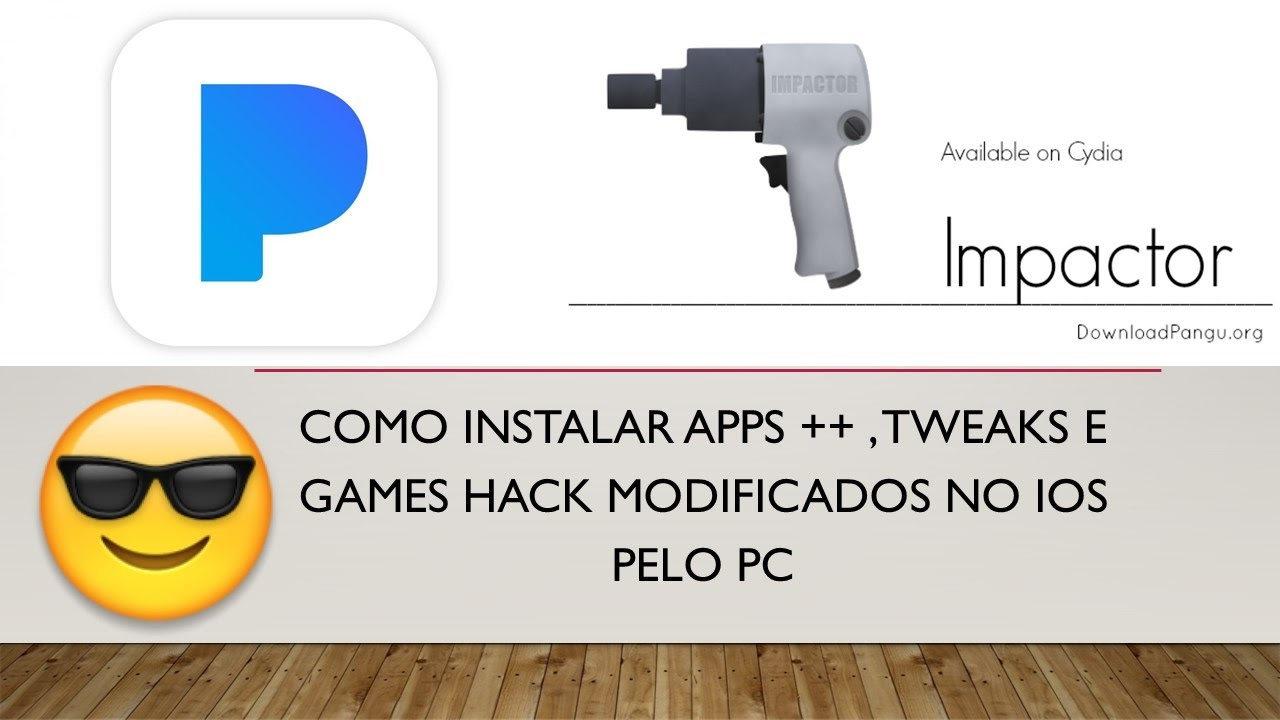 Como instalar Aplicativos ++ , Tweaks e Games Hack no iPhone pelo Pc SEM  Jailbreak