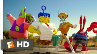 Download Lagu The SpongeBob Movie: Sponge Out of Water (2015) - Butt Kicking Scene (7/10) | Movieclips mp3
