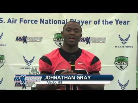 U.S. Air Force National Player Of The Year - Johnathan Gray