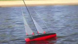 1M RC Yacht Sailing - USOM Mistral Mid-Winter