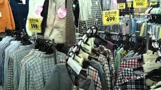 衣料品店内