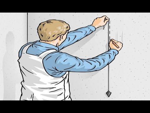 Как пользоватся строительным отвесом