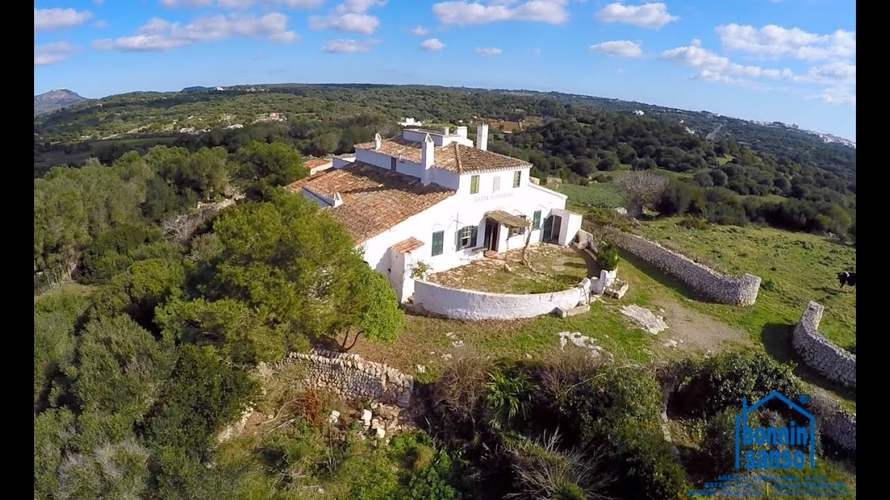 Finca con encanto en alayor country estate in alayor menorca youtube - Bonnin sanso mahon ...