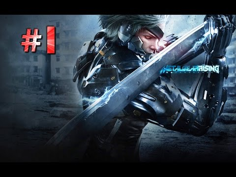 Metal Gear Rising Revengeance Gameplay Walkthrough Part 1 - Guard Duty - Mission 1
