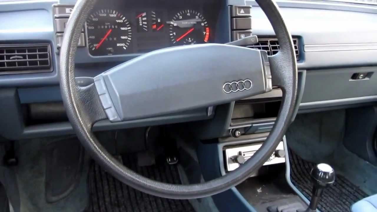 AUDI 80 GLS B2 anno1980 1.6cc benzina 4 marce sterzo demoltiplicato (no servosterzo)