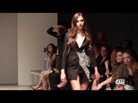 NWA Fashion Week - Fashion Designer Felix Bui line Crossing Runway